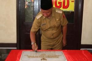 Bupati Lampung Barat Resmikan Puskesmas Airhitam