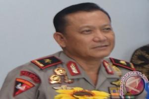 Brimob Polda Lampung Kawal Pemudik Lebaran