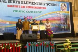 SD Global Surya Dapat Apresiasi Gamolan Institut