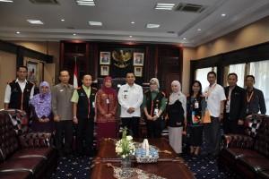 Gubernur Lampung Didata Sensus Ekonomi 2016