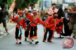 SMKN 7 Bandarlampung Juarai Pawai Budaya