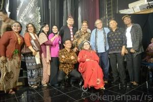 Arief Yahya luncurkan CD keroncong pariwisata