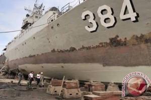 Indonesia bantah kapal perangnya ditembak