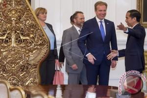 Presiden terima kunjungan Menteri Luar Negeri Norwegia