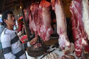Harga daging  capai Rp110 ribu/kg