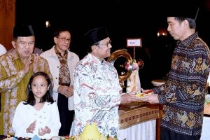 Presiden Jokowi hadiri syukuran ultah Habibie