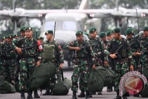 401 Indonesian soldiers arrive in Malaysia