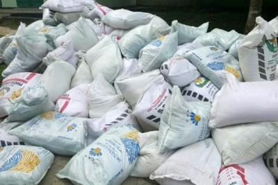 Polda Lampung sita 300 zak pupuk bermasalah