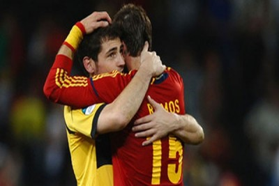 Ramos terkejut Casillas tidak dipanggil masuk Timnas Spanyol