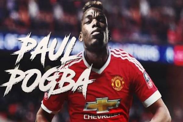 Dua gol Pogba bawa United raih kemenangan