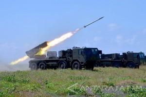 Presiden saksikan Latihan perang di Natuna