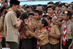 Presiden Jokowi akan Buka Jambore Nasional Pramuka