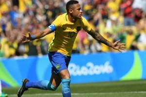 Gol Neymar menangkan Brazil