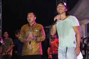 Slank Meriahkan HUT Kemerdekaan RI di Lampung