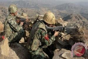 Baku tembak, Pakistan tewaskan 10 pemberontak