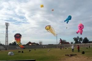 Festival layang-layang di Bandarlampung