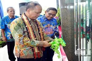 Menristekdikti Resmikan Gedung Ki Hajar Dewantara Politeknik Lampung