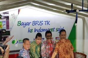 Peserta bisa bayar BPJS Ketenagakerjaan di Indomaret