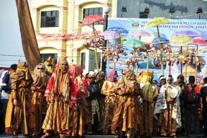 Warga Apresiasi Topeng Lampung raih Rekor Muri