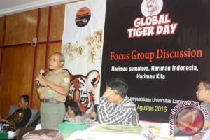 Balai TNBBS ajak mahasiswa dukung konservasi Harimau
