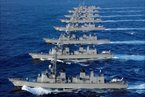 AS- Jepang unjuk kekuatan ke Korea Utara