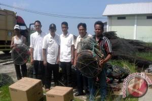 DKP salurkan alat tangkap nelayan Lampung Timur