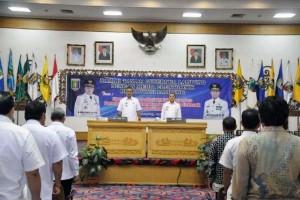 Pemprov Lampung ramah tamah dengan wartawan