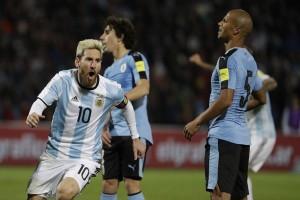 Messi tampil memukau, Argentina melaju ke PD 2018