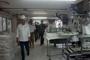 Mendag Kunjungi Pabrik Gula PSMI Waykanan Lampung