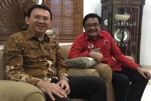 Akhirnya PDIP usung Ahok-Djarot di Pilkada DKI Jakarta