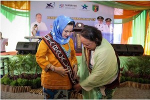 Yustin Ficardo dikukuhkan sebagai Duta Baca Lampung