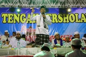 Warga Lampung Tengah doakan korban banjir Garut