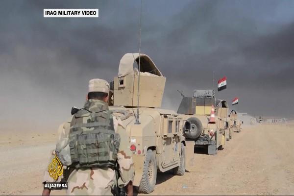 Militer Irak serang habis Mosul