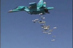 "Jet ""Rusia"" serang gerilyawan di perbatasan Turki"