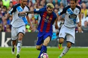 Messi hanya dikenakan denda