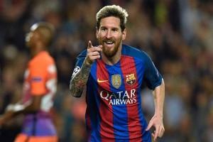 Messi akhirnya jebol gawang Juventus