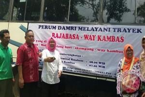 Damri Layani Trayek ke Taman Nasional Way Kambas