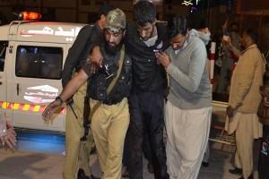 Asrama polisi Pakistan diserang, 59 orang tewas
