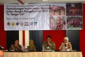 Indonesia Berupaya Keluarkan Tiga Taman Nasional Dalam Bahaya