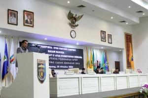 Belanja APBD Lampung 2016 Meningkat 10,43 Persen