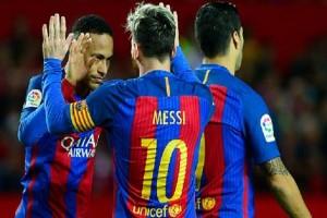 Messi, Suarez dan Ronaldo bersaing ketat