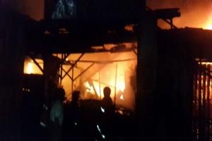 Empat warga Medan tewas dalam kebakaran