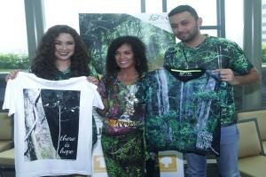 """""""Love & O2"""" Bangun Taman Hutan Hujan Tropis Pertama di Indonesia"""