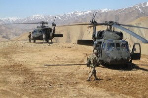Afghanistan akan ganti heli Rusia dengan Black Hawk