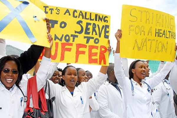 Dokter mogok, Kamerun