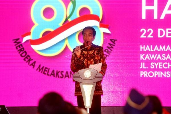 Presiden Hadiri Puncak Hari Ibu di Banten