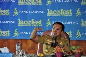 Gubernur Lampung: Kopi Bagian Promosi Pariwisata