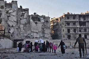 Pemberontak dan sipil tinggalkan Aleppo