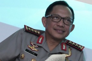 Kapolri Anugerahi Bintang Bhayangkara Utama Kepada KSAU