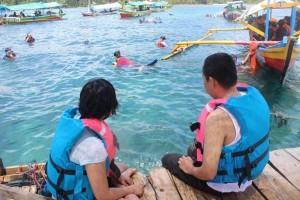 Pulau Pahawang Ramai Dikunjungi Wisatawan Liburan Natal